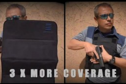 bulletproof vest vs a ballistic shield popshield